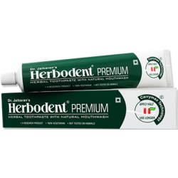 Herbodent Premium Herbal Toothpaste Pack of 12 - Natural Flavour