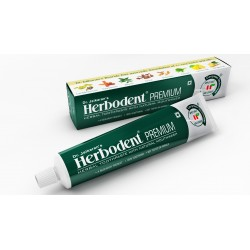 Herbodent Premium Herbal Toothpaste Pack of 3 - Natural Flavour